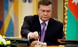 Янукович подписал закон об амнистии