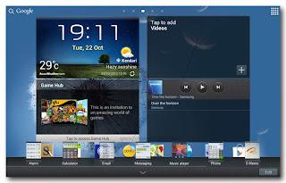 Samsung Galaxy Note 10.1 - Mini apps