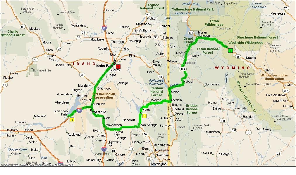 Roving Reports By Doug P 2012 26 American Falls Idaho