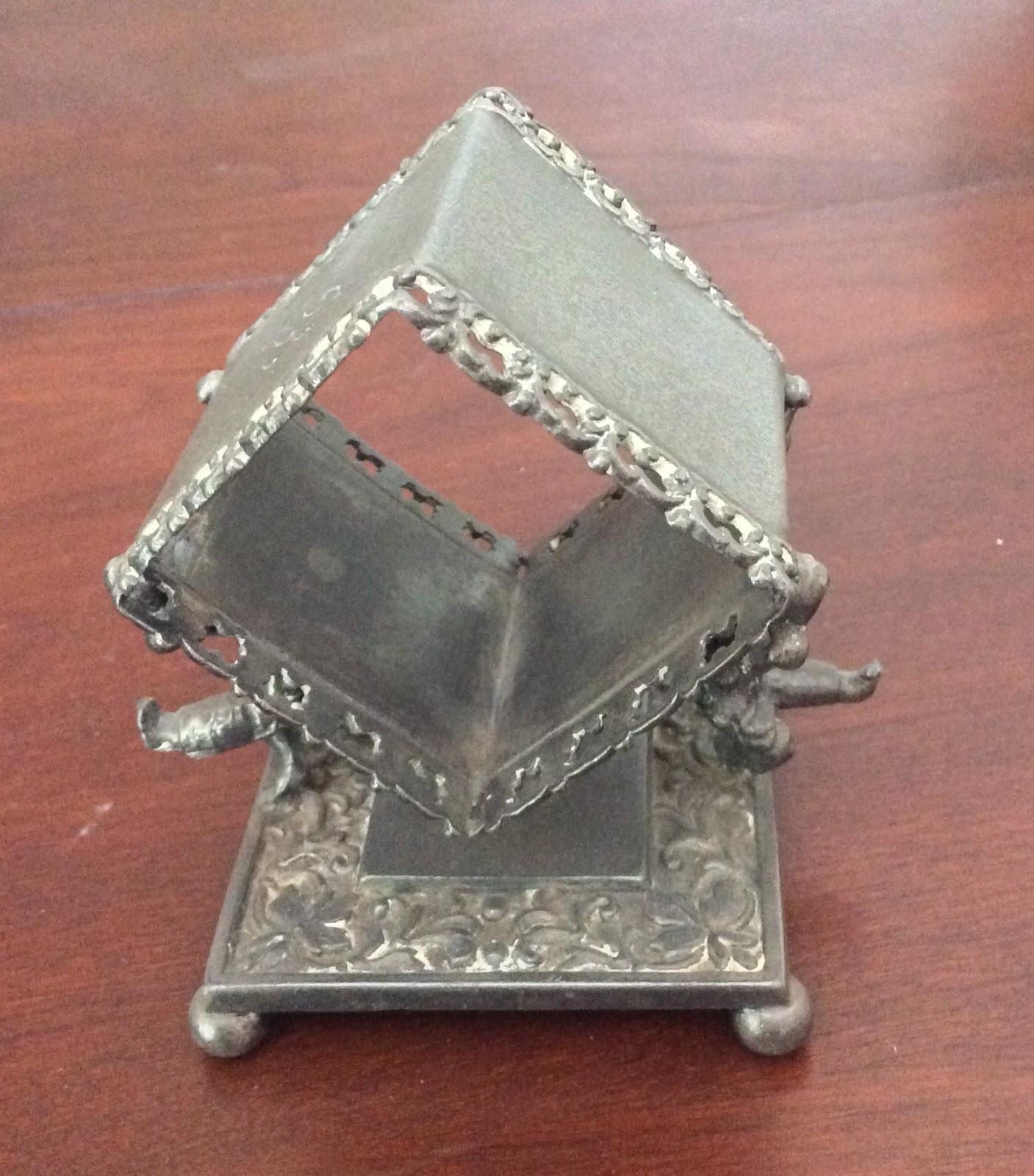 Antique Victorian Figural Napkin Rings