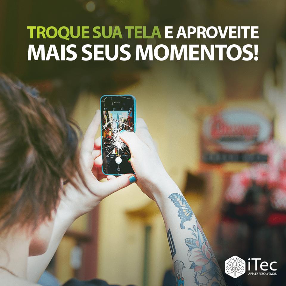A tela do seu Iphone quebrou? Troque na AUTORIZADA APPLE em Londrina .