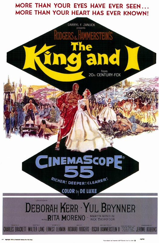 The King and I movie poster