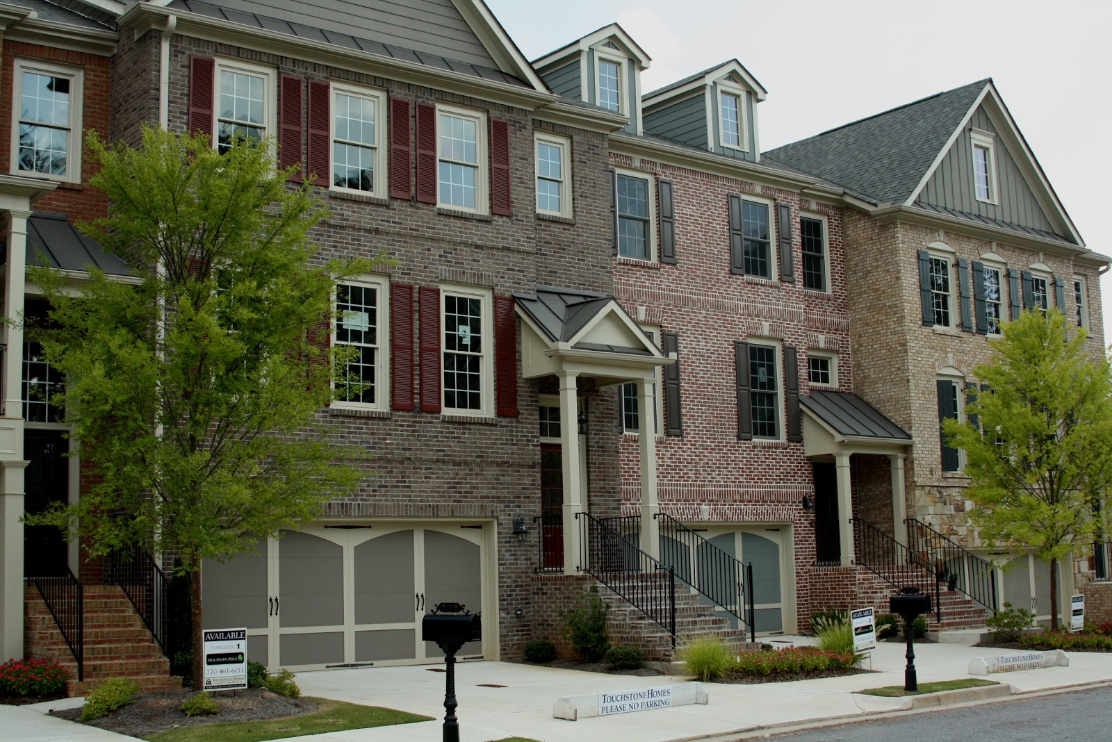 North atlanta home team blog touchstone built new haven Elevator townhomes