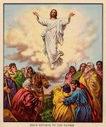 . el día de la Ascensión, cuando se conmemora la subida de Jesús al Cielo. resurreccion de jesus