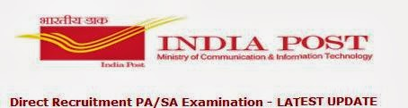 Indian Post Result of the PA, SA Direct Recruitment 2013 Examination