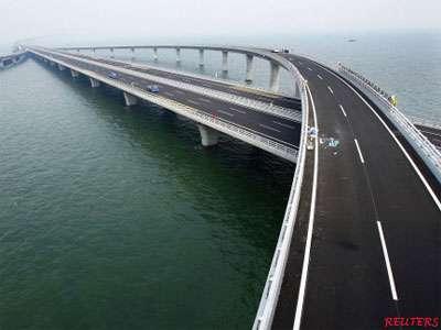 World Longest Sea Bridge 39 Qingdao Jiaozhou 39 China 36