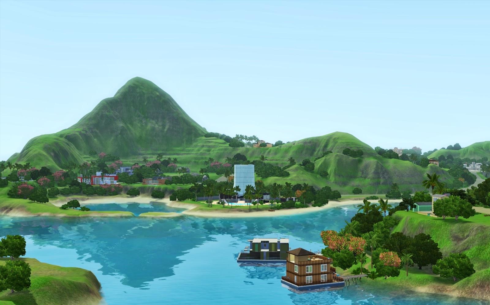 Výsledek obrázku pro the sims 3 island paradise