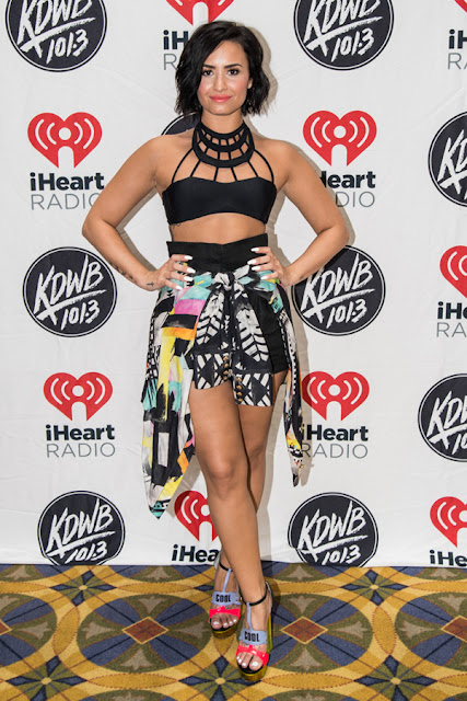 Demi Lovato - Cool For The Summer lakeside party in Lake Minnetonka