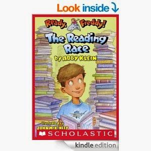 http://www.amazon.com/Ready-Freddy-27-Reading-Race-ebook/dp/B00CFT8CYA/ref=sr_1_6?s=books&ie=UTF8&qid=1411408594&sr=1-6&keywords=ready+freddy