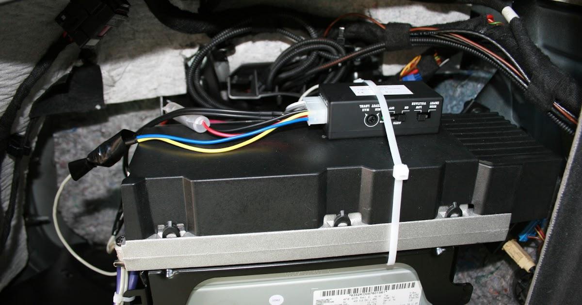 Audi A6 4f - Die Datenbank: Endstufe nachrüsten am MMI 2G High mit Bose