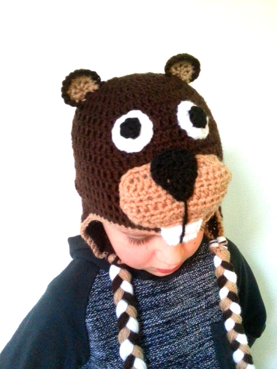 Beaver hat free pattern
