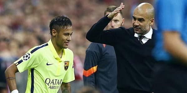 Neymar Ingin Dilatih Pep Guardiola