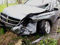 Rental Dodge Avenger breaks down at assisted living home