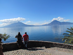 Lago Atitlan during the day