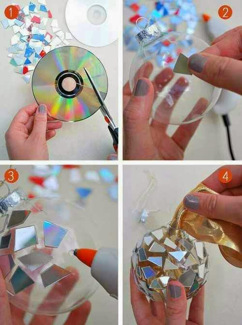 DIY Using Unused CD,s And DVD,s