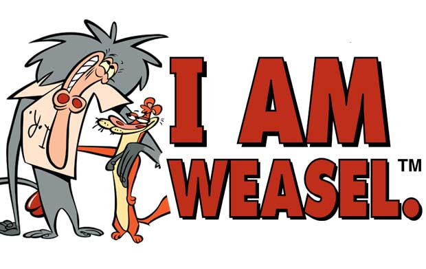 I Am Weasel American Animated Cartoon