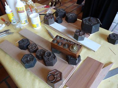 Boutique de l'Océan,Miniature,Cabane, Boutique,Michelle LEBOUTEILLER,Chantal SIGURET