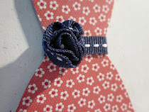 FREE Stitched ribbon rose tutorial