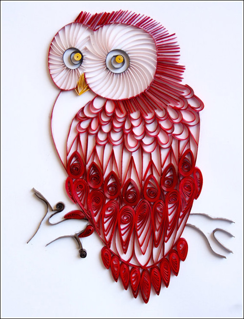 My Owl Barn: Gorgeous Paper Quilled Art