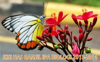 Kisi UAS Ganjil IPA Biologi SMP 2013-2014
