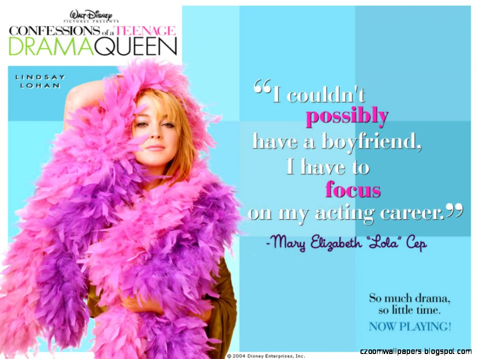 Confessions of a Teenage Drama Queen  Free Desktop Wallpapers for