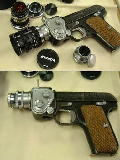 kamera unik Pistol NIKKOR