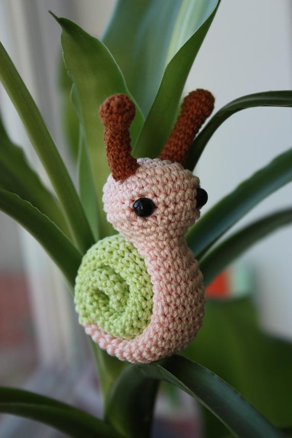 Amigurumi Snail Pattern Free : Happyamigurumi: Amigurumi snail PDF pattern is ready!