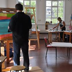 Pittura a Böhlen
