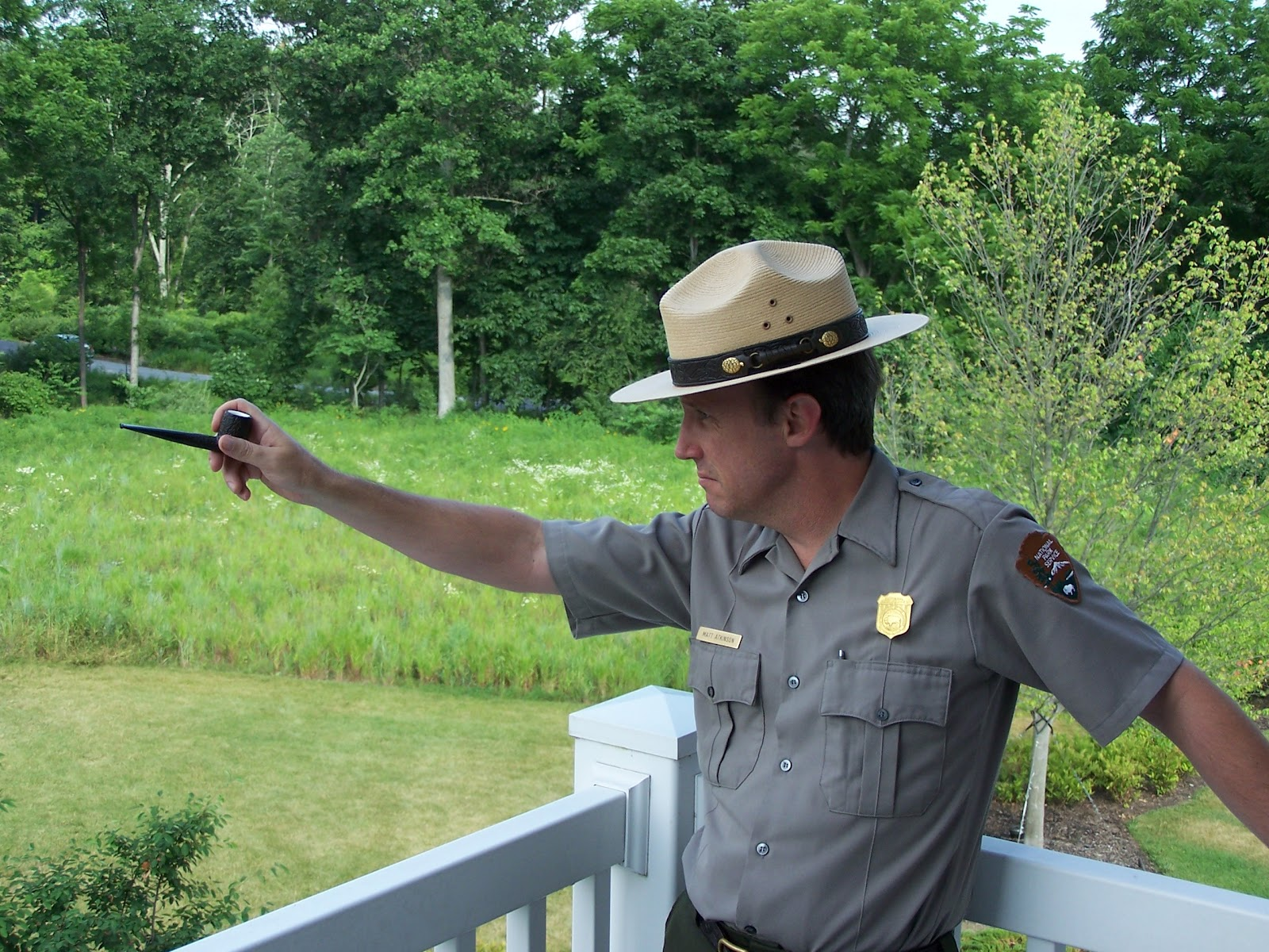 park ranger Seen and heard what made you want to look up park rangerplease tell us where you read or heard it (including the quote, if possible).
