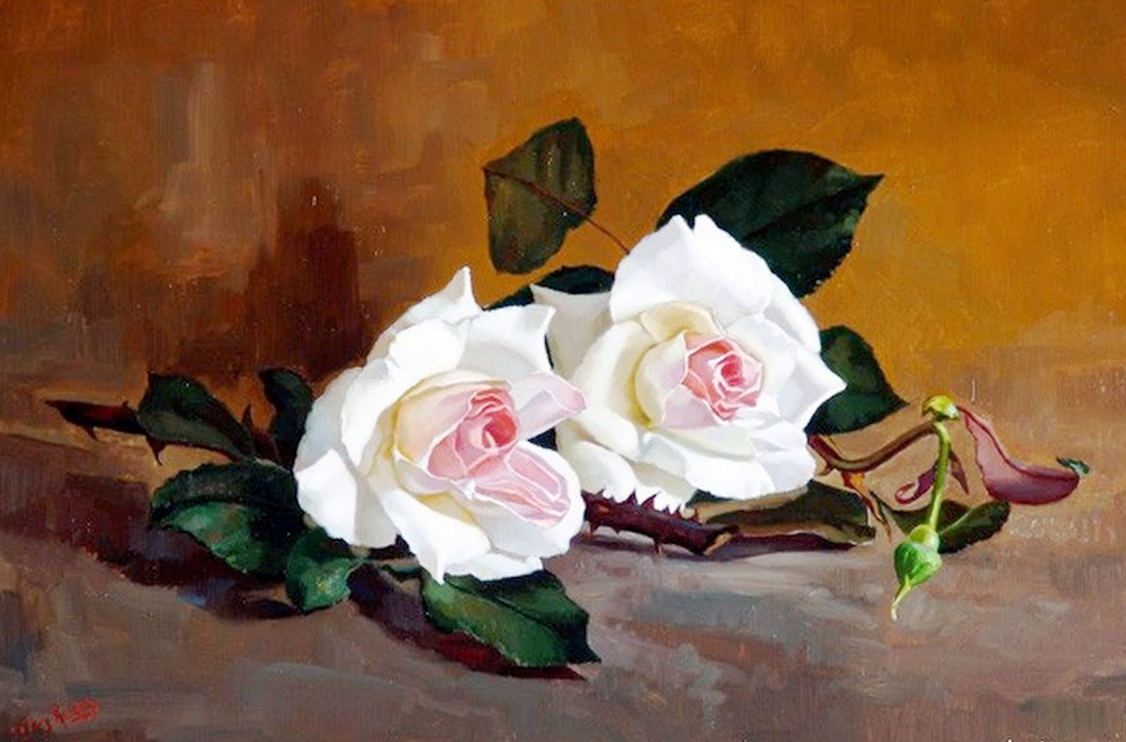 bodegones-con-flores-pintadas-en-realismo