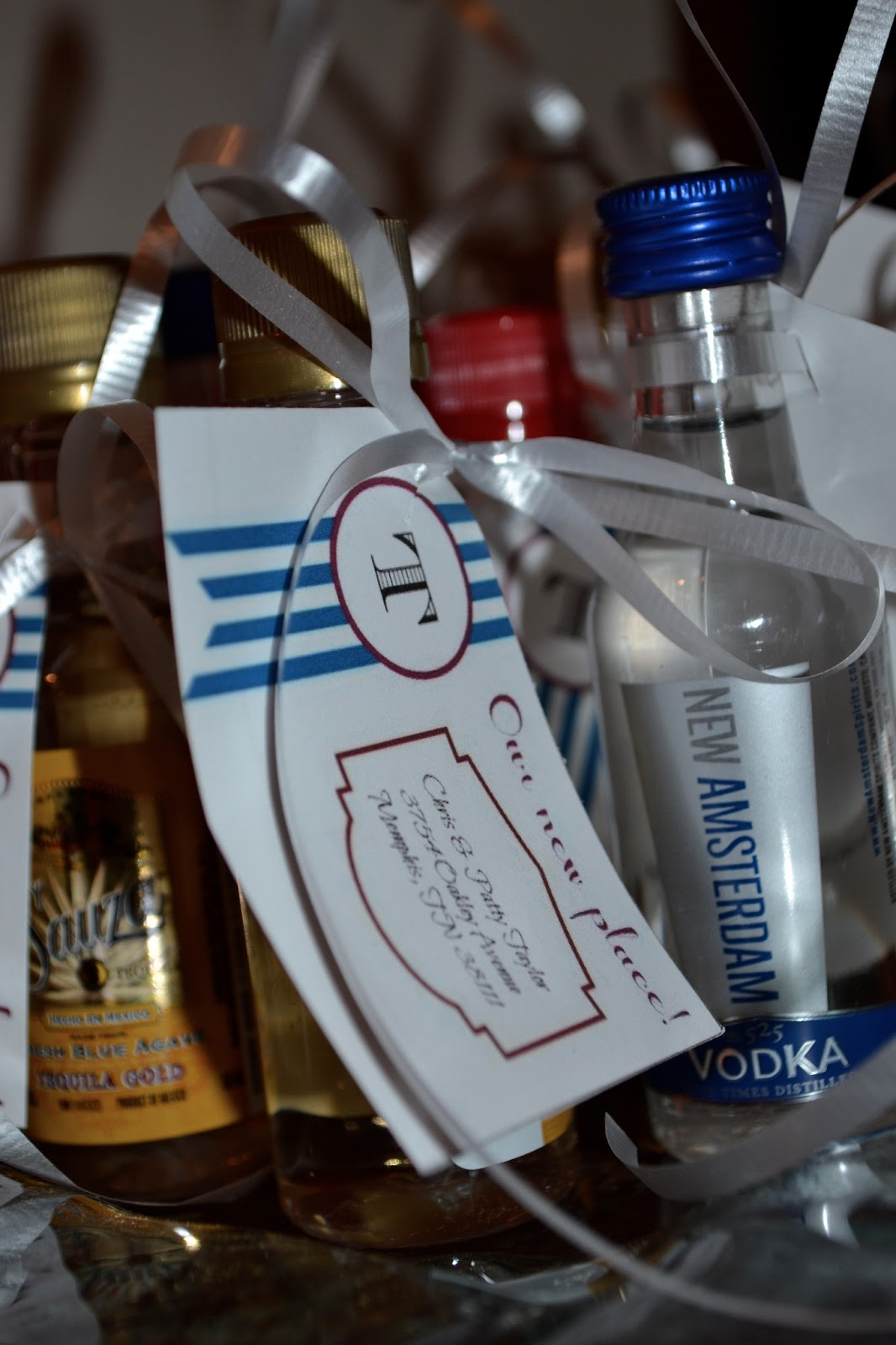 Front Row Seat: Stock the Bar - Housewarming Party