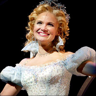 Kristin Chenoweth as Glinda/Galinda, Wicked