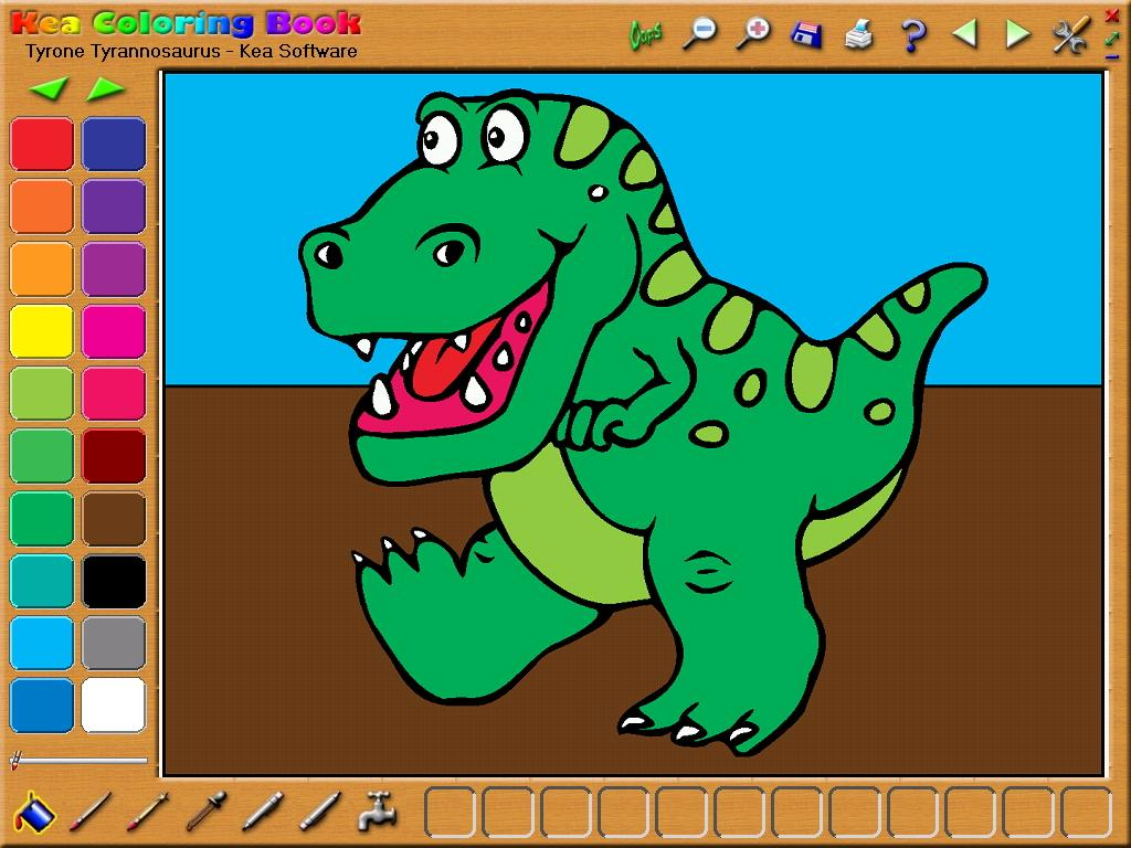 Kea coloring book games online - a-k-b.info