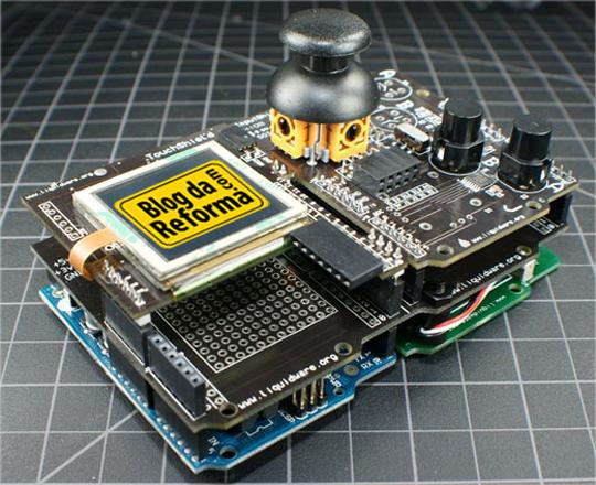 Arduino + shields