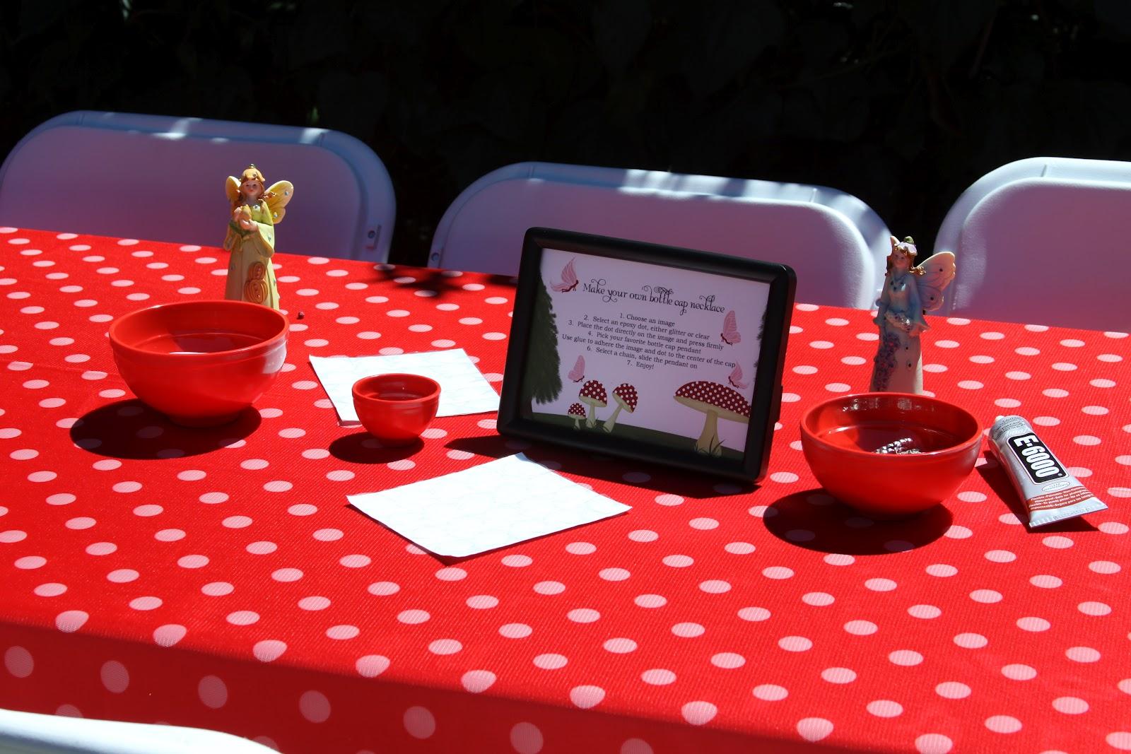 Bella Festa Woodland Fairy Themed 5th Birthday Party