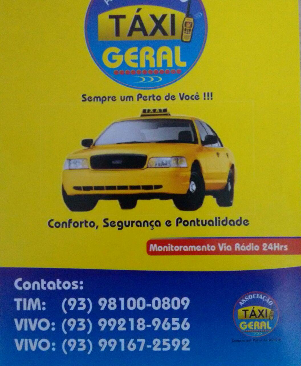 Conforto e Pontualidade em Santarém Táxi Geral