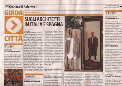 Graziella Trovato e Diego Barbarelli per AIAC al Ceravntes di Palermo