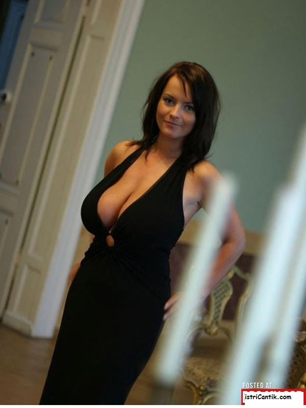 Little Black Dress Cleavage
