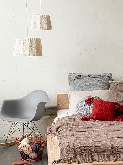 En Miss Manos: Cojines de lana + DIY con patrón