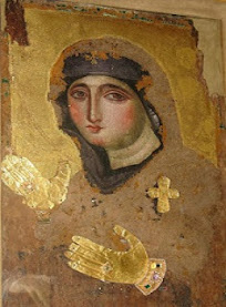 Σπάνια βυζαντινή εικόνα του 7ου αιώνα της Παναγίας Αγιοσορίτισσας (Santa Maria del Rosario)
