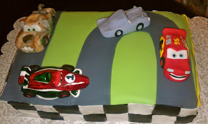 Cars 2 Cake