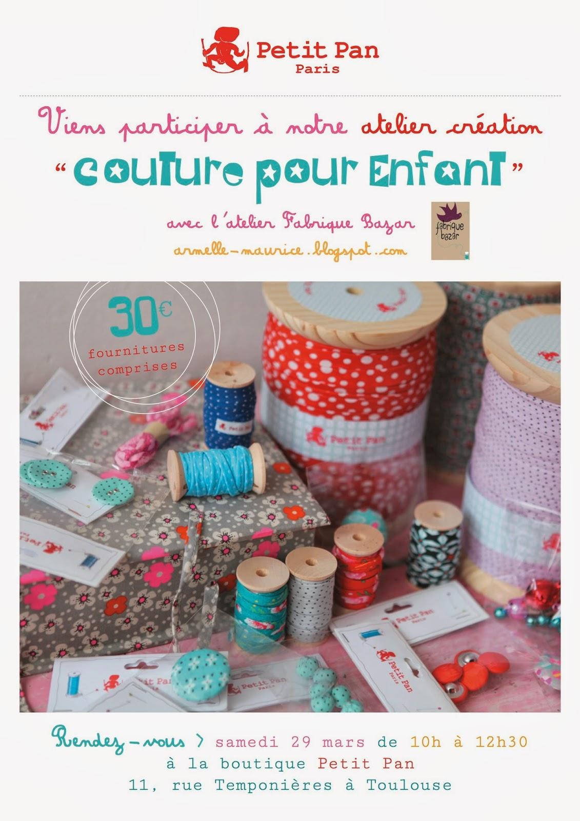 cours de couture fabrique bazar blog créatif Toulouse