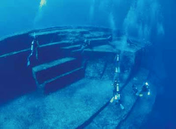 OVER 200 UNDERWATER STRUCTURES IN THE MED ALONE DISPROVE THE OFFICIAL ACCOUNT OF HISTORY