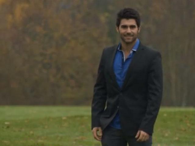 Cena do vídeo de apresentação de Willian Rech, Mister Brasil World 2012