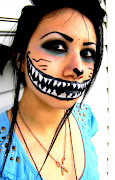 Cheshire Cat Makeup. Posted by Ray X at 7:25 PM. Labels: makeup