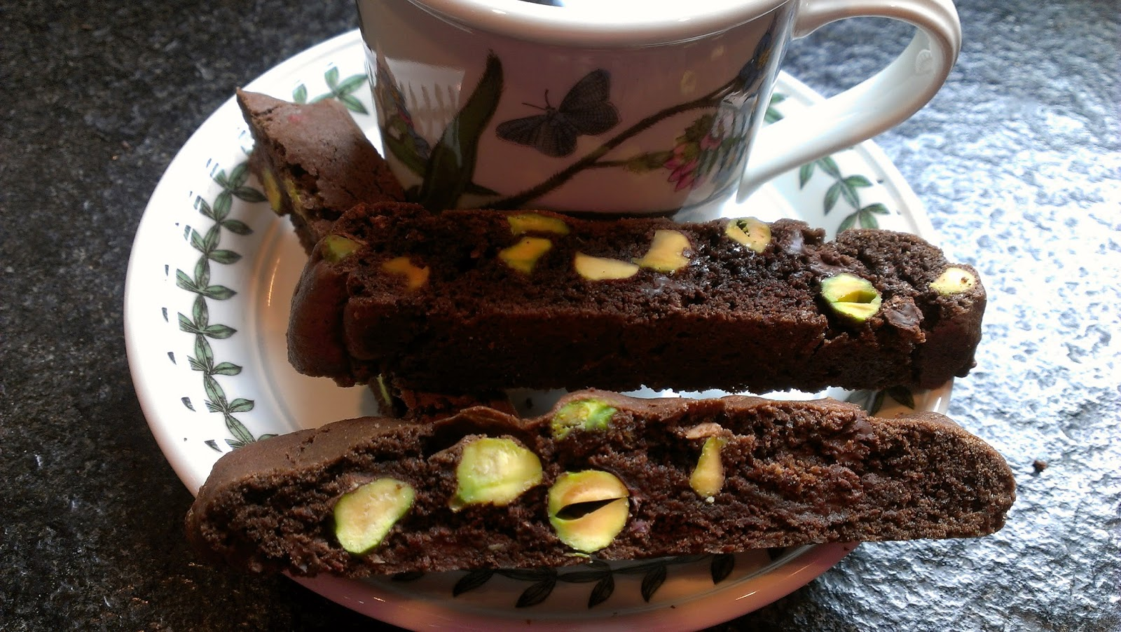Got it, Cook it: Chocolate Pistachio Biscotti