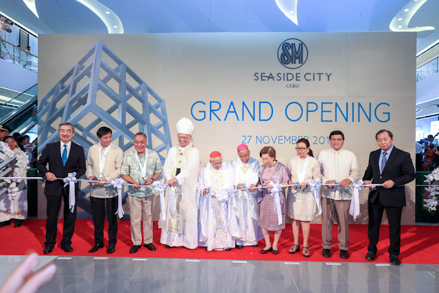 SM Seaside City Cebu Launch