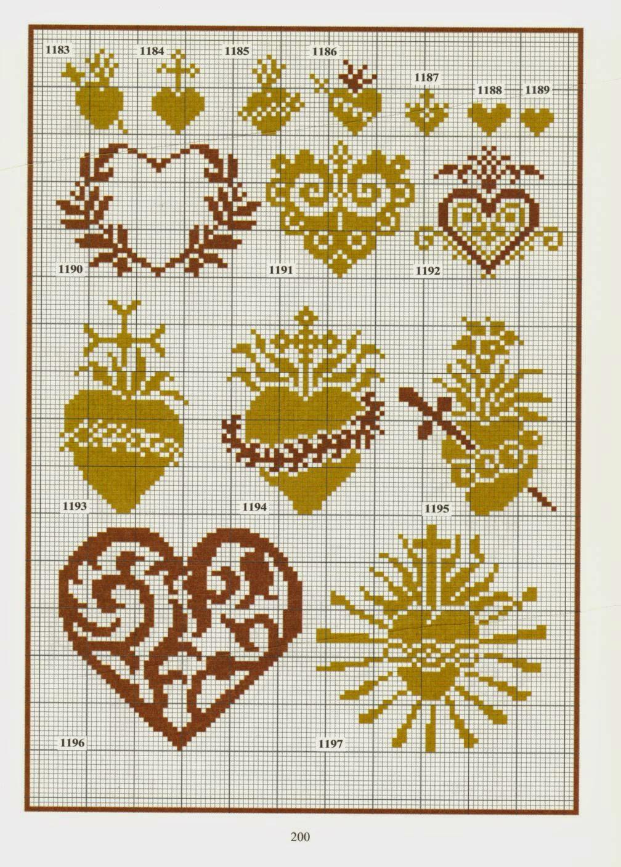 Коллекции схем по вышивке крестом