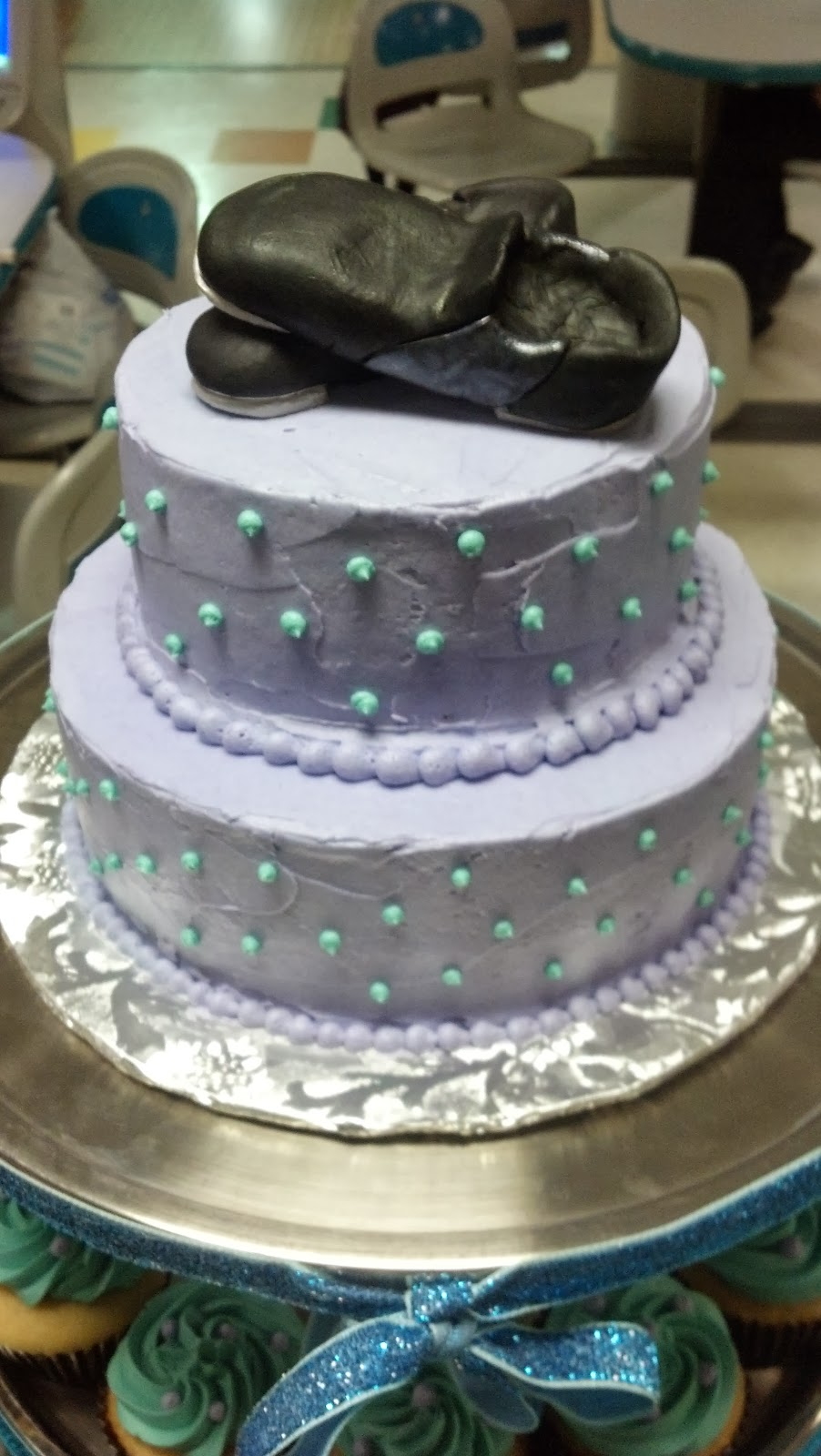 Cakes Tap Shoe Birthday Cake And Cupcakes