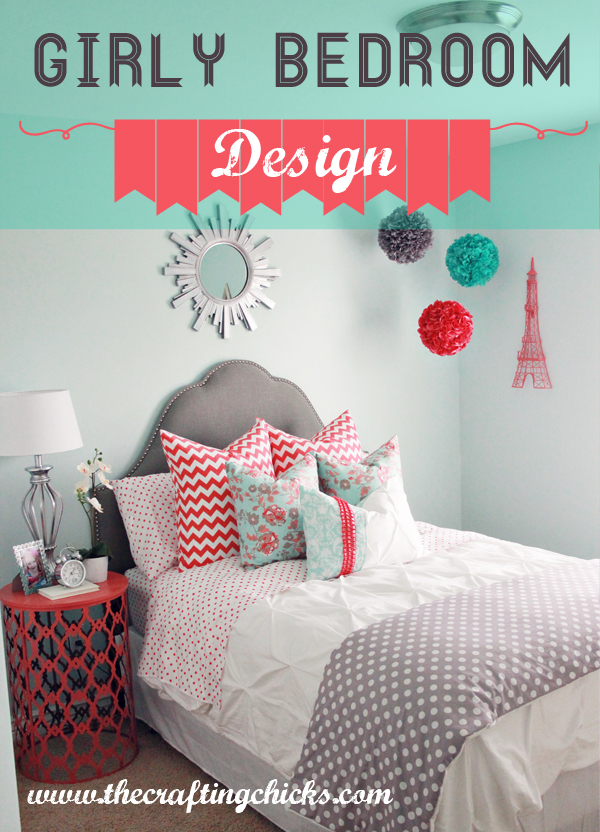 Best interior designers girly bedroom decor for Bedroom designs girly